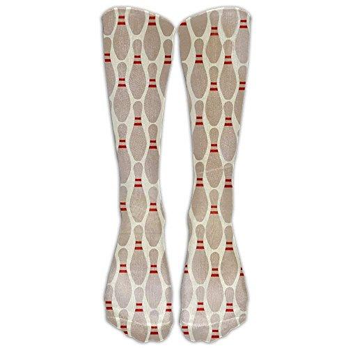 (Bowling Pins Classics Stockings, Great Quality Knee High Tube Socks, Sports Long Socks for Men Women 65CM)