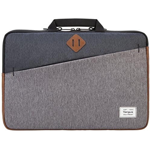 Targus Strata II Laptop Sleeve with Handles for 15.6-Inch Laptops, Gray (TSS937)