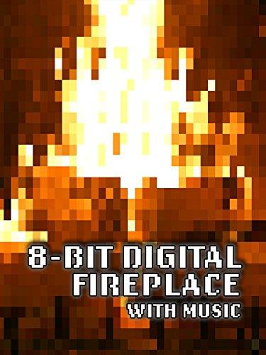 8 bit fireplace - 1