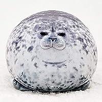 Mini Chubby Blob Seal Pillow Stuffed Cotton Plush Animal Toy Cute Ocean Pillow Pets, Sea Animal Pillow Blob Seal Pillow…