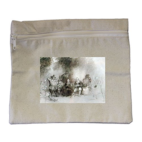 Peter Stuyvesant To Dance Event (Durand) Canvas Zippered Pouch Makeup Bag by Style in Print (Image #1)