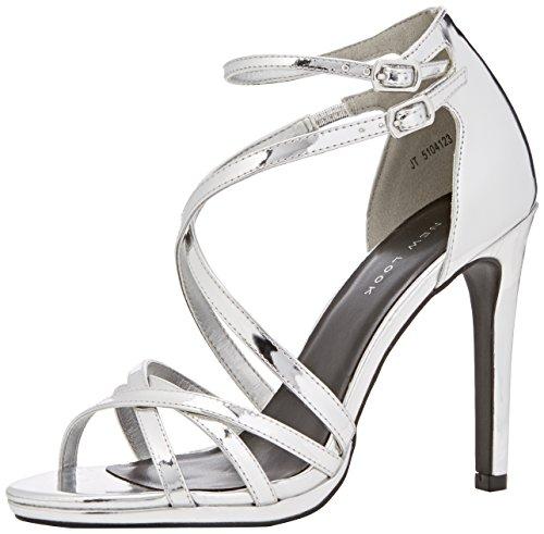 New Look Sabrina - Zapatos Mujer Plata (Silver)