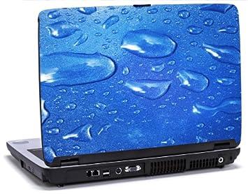 Azul resistente al agua - vinilo para ordenador portátil para Dell Inspiron 1545 portátiles: Amazon.es: Informática