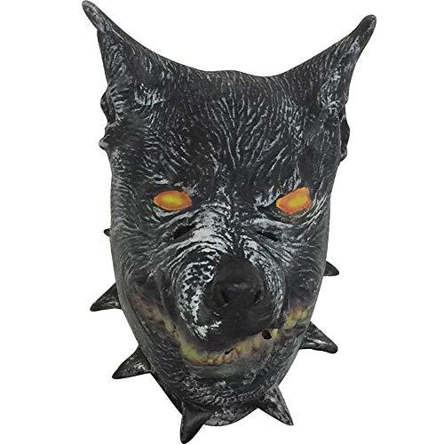 Littlefairy Halloween mask,Wild Wolf Latex mask Halloween Cartoon Anime Wolf Head Horror Mask Masquerade Mask ()