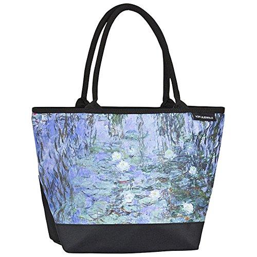 "VON LILIENFELD Borsa shopping Claude Monet: ""Ninfee"""
