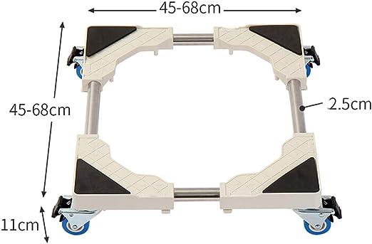 FAYY Base móvil Ajustable Universal movible para Soporte de ...