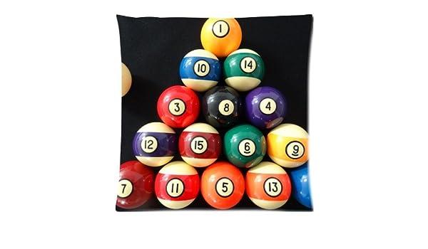 Custom billar bolas de billar con cremallera cubierta funda de ...