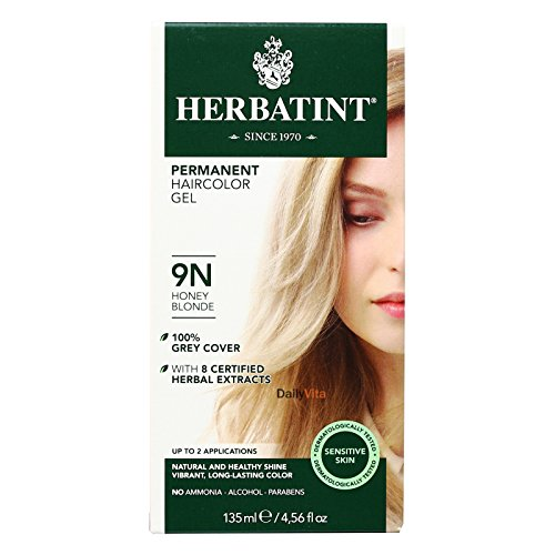 - Herbatint 9N Permanent Herbal Honey Blonde Haircolor Gel Kit - 3 per case.