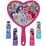 #10: TownleyGirl My Little Pony Super Sparkly Lip Balm Set for Girls, with 4 Fruity Flavors and Decorative Mirror