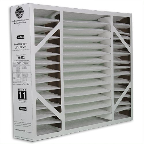 Lennox Healthy Climate 20x25x5 x6673 MERV 11 Box Filter