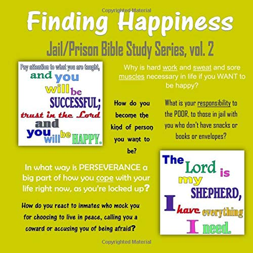 Finding Happiness (Jail/Prison Bible Study Series) (Volume 2