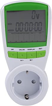 UEB Medidor Contador de Enchufe Consumo Electricidad con ...