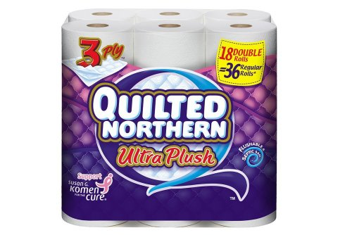 Quilted Northern Bath Tissue Ultra Plush Double Roll, 18 Cou