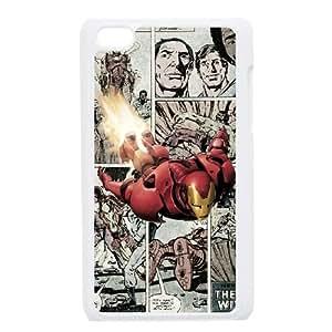Marvel comic iPod Touch 4 Case White JR5168001