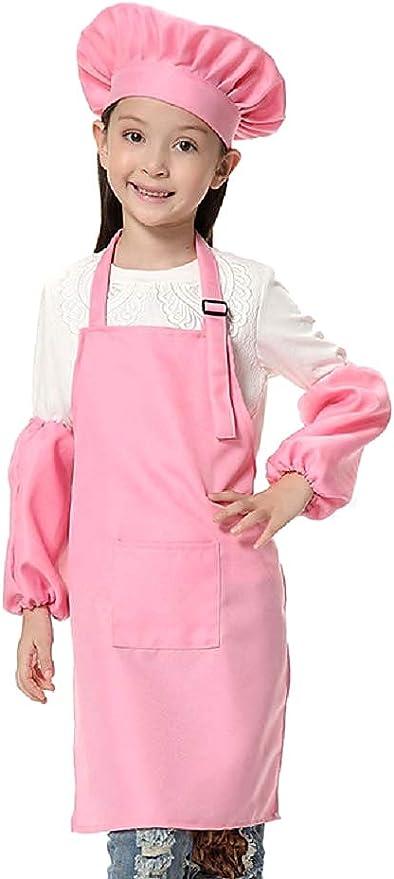 Rosa - talla única - disfraz de chef - uniforme - chef - niños ...