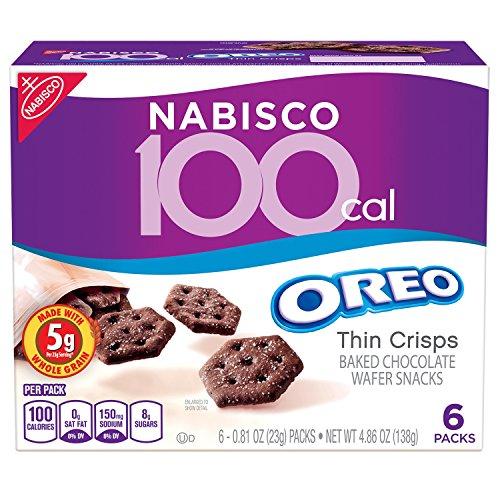 Nabisco 100 Cal Oreo Thin Crisps Chocolate Snacks, 4.86 Ounce