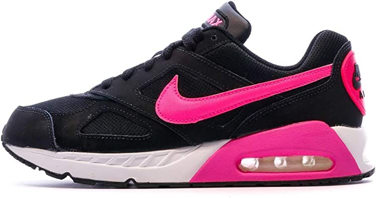 Nike Air MAX Ivo (GS) - Zapatillas para niña, Color Negro/Rosa/Blanco: Amazon.es: Zapatos y complementos