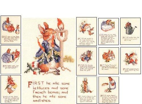 Cross Peter Stitch Rabbit Pattern (The Tale of Peter Rabbit (Book 549))
