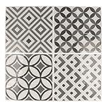 Artemio-4-fogli-mosaico-grigia-autocollante-Multicolore-4-quadretti-di-125-x-125-cm
