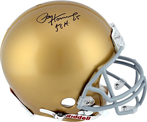 Paul Hornung Notre Dame Autographed Authentic Proline Helmet with 56 H Inscription - Fanatics Authentic Certified ()