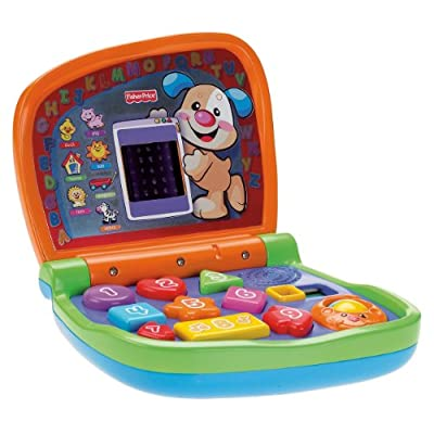 Fisher-Price Laugh & Learn Smart Screen Laptop: Toys & Games