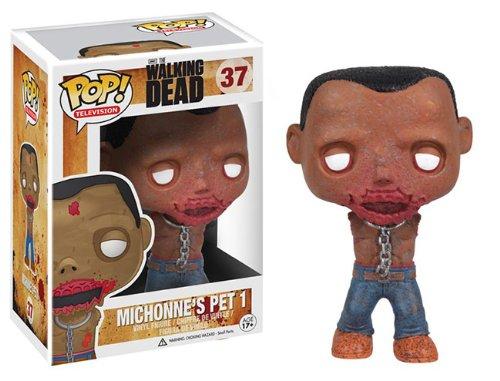 """Funko Pop The Walking Dead 4"""" Vinyl Figure: Michonne Pet Wal"""
