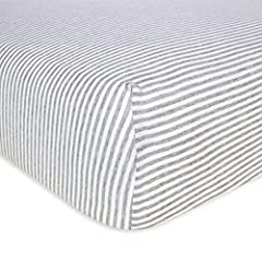 Burt's Bees Baby Fitted Crib Sheet - Feels like your favorite tee. 100% organic cotton, GOTS certified, jersey knit baby bedding. Sweet dreams come easy on our soft and cozy 100% organic crib sheets, and organic cotton means that parents can ...
