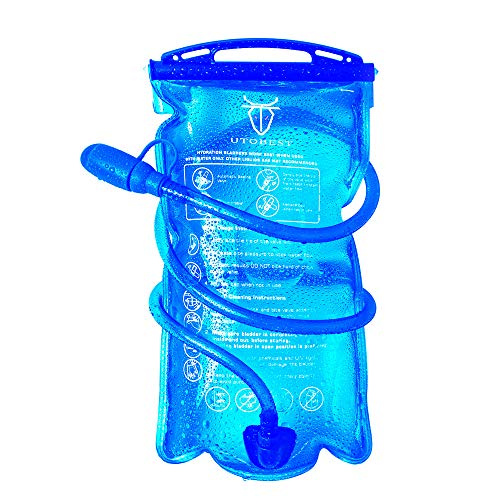 🥇 UTOBEST Bolsa de Agua para Mochilas Hidratación 1L