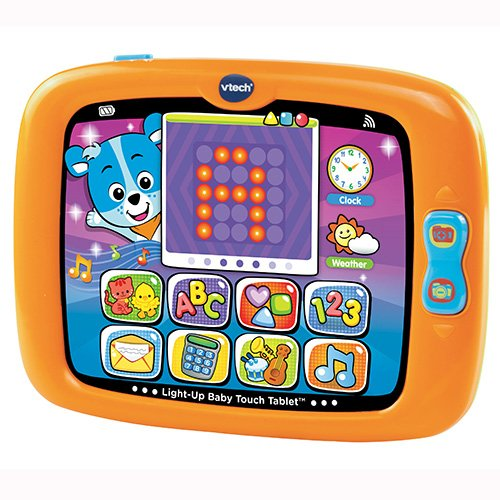 Light-Up Baby Touch Tablet Orange