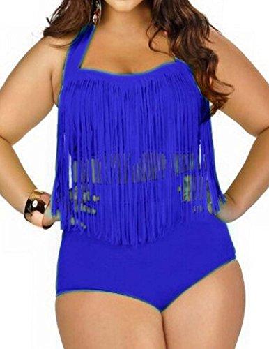 Papaya Womens Braided Fringe Swimwear