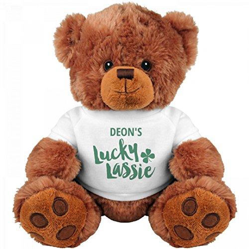 Shamrock Deon's Lucky Lassie: Medium Teddy Bear Stuffed Animal