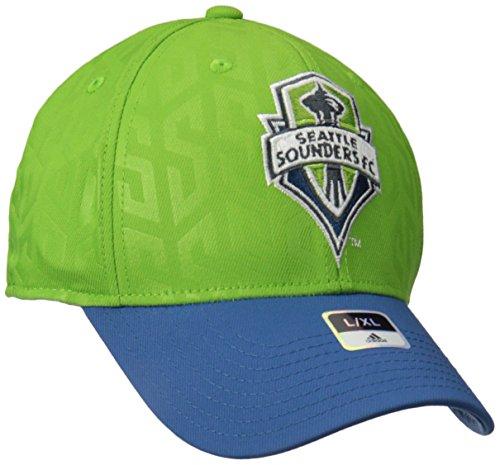 adidas MLS Men's Structured Flex Jersey Hook Hat – DiZiSports Store