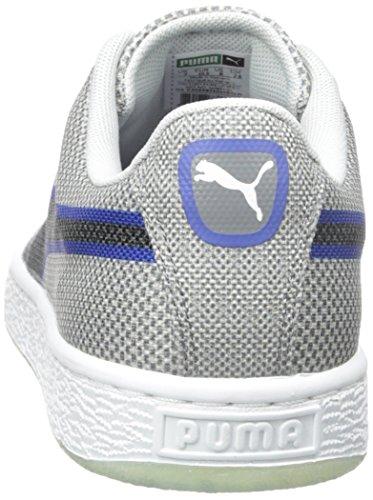 Puma Mens Korg Klassiskt Vävda Mode Sneaker Glaciär Grå