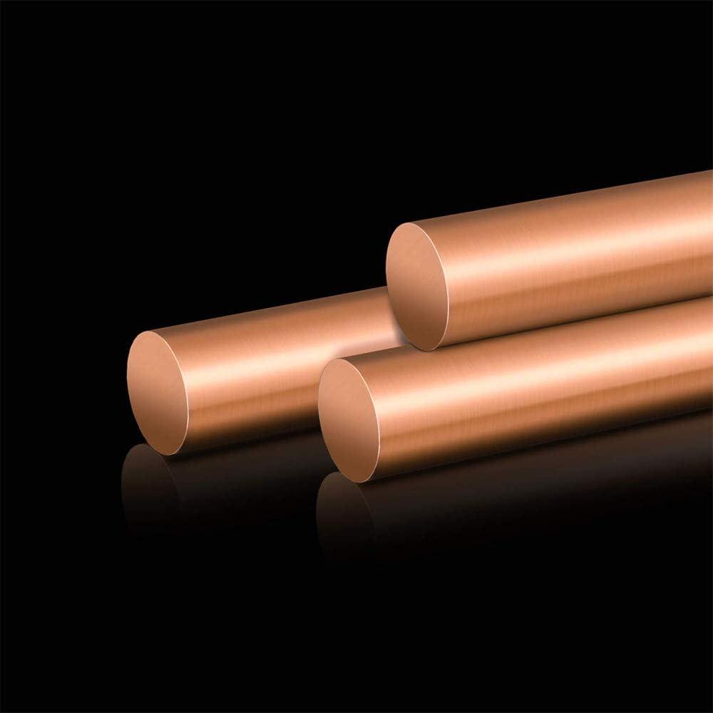 LOKIH Copper Round Bar Solid Copper Bar Diameter 16Mm Length 0.5M