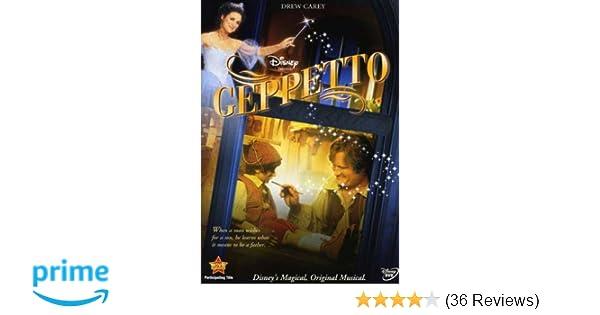 2a5af3c3cc58 Amazon.com: Geppetto: Drew Carey, Julia Louis-Dreyfus, Brent Spiner, Rene  Auberjonois, Seth Adkins, Usher Raymond, Ana Gasteyer, Wayne Brady, Jessica  Sara, ...