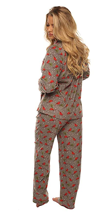 Velvet Kitten Pajama Sleepwear Set Cardinal Holiday Women s Fleece PJ at  Amazon Women s Clothing store  bb2e9e466