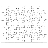 CafePress - White Solid Color - Jigsaw Puzzle, 30 pcs.