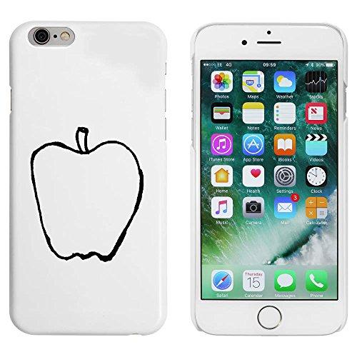 Blanc 'Pomme' étui / housse pour iPhone 6 & 6s (MC00083653)