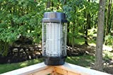Extra Lage Professional Indoor/Outdoor Electronic Bug Zapper - Powerful 150 Watts Traps Flies and Kills Mosquitos - 3 Acres