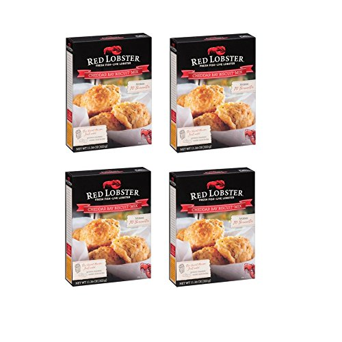 Red Lobster, Cheddar Bay Biscuit Mix , 11.36oz Box (4 - Mix Biscuit Cheese