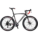 Eurobike OBK XC550 Road Bike 700C Wheels 21 Speed Disc Brake Mens or...