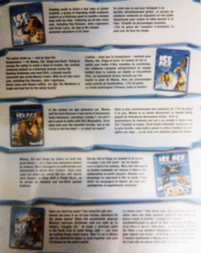 Mammoth Ice Age Pack,Blue Ray+DVD+Digital Copy:Ice Age, The Meltdown,Dawn of the Dinosaurs,Continental Drift,A Mammoth Christmas Special