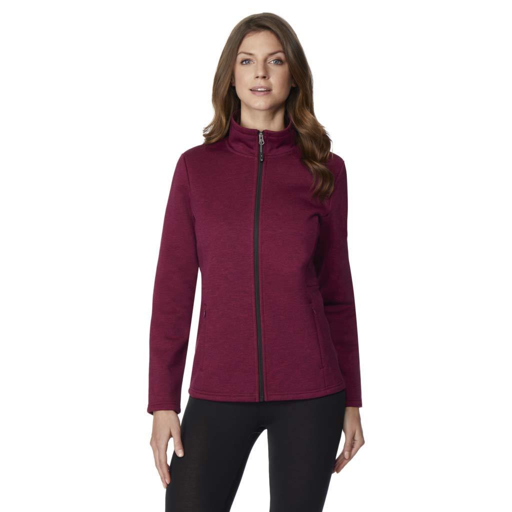 32 DEGREES Womens Fleece Tech Cozy Lined Zip Jacket
