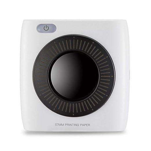 zhixing - Impresora de Bolsillo sin Tinta, 300 PPP, Bluetooth ...