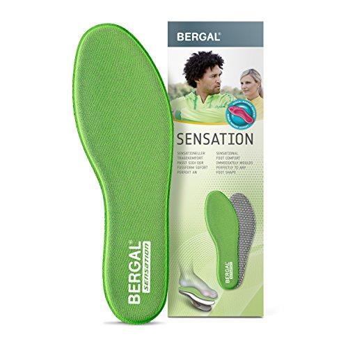 Bergal Sensation - Einlegesohlen mit punktelastischem Visko-Schaum (Bergal Memory Support-Schaum) Memory Foam Damen Gr. 39