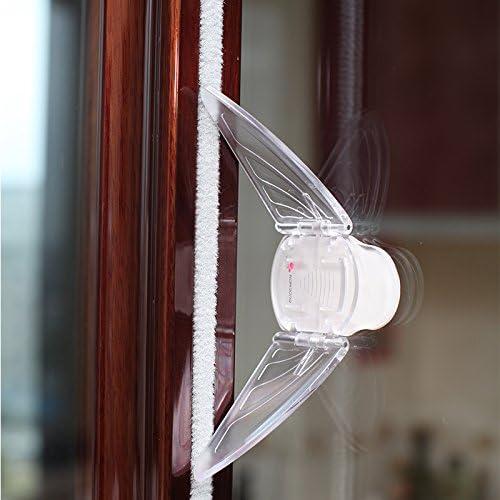 EUDEMON plástico bebé seguridad 3 unidades tapón de la puerta corredera deslizante ventana Locks: Amazon.es: Bebé