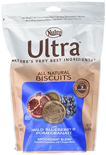 Nutro Ultra Blueberry & Pomegranate Biscuits - 16 oz