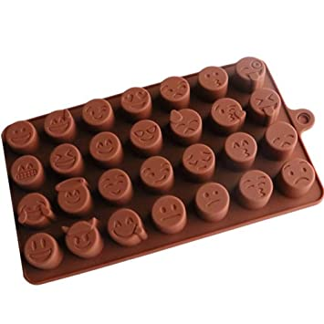 Molde de Jabón de Chocolate Hecho A Mano Patrón de Jabón Molde de Pastel de Silicona: Amazon.es: Hogar