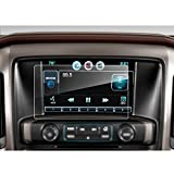LFOTPP Chevrolet SILVERADO 1500 8 Inch MyLink 2014-2018 Car Navigation Screen Protector, [9H] Tempered Glass Center Touch Screen Protector Anti Scratch High Clarity