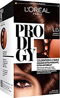 loral paris prodigy coloration permanente lhuile sans ammoniaque 415 - Les 3 Chenes Coloration